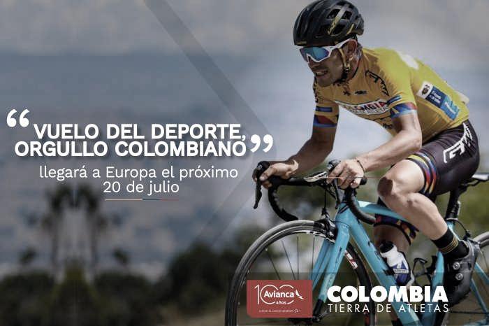 """Hora de abordar: todo listo para el despegue del """"Vuelo del deporte, orgullo colombiano"""""""