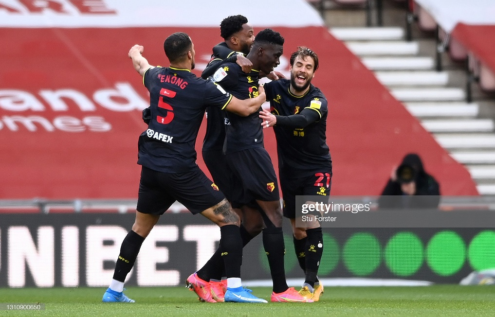 Middlesbrough 1-1 Watford: Bolasie rescues a point for Boro