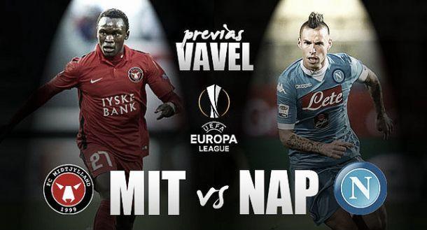 Risultato Midtjylland - Napoli di Europa League 2015/2016 (1-4): Gabbiadini Show, anche Callejon e Higuain a segno