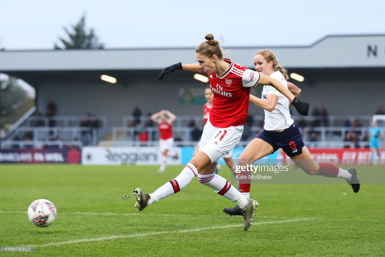 Arsenal 1-0 Liverpool: Gunners remain third in WSL