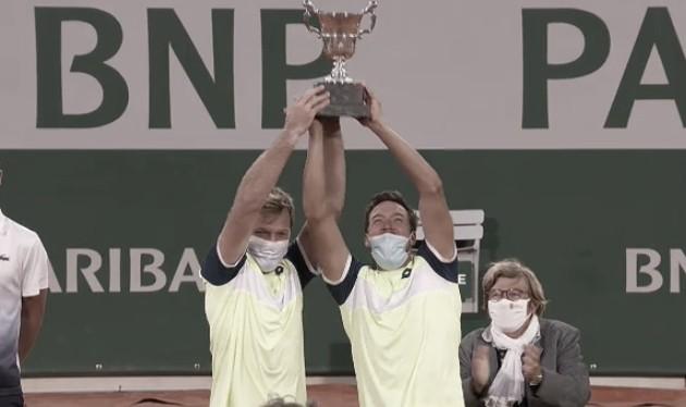 Krawietz/Mies superam Soares/Pavic e conquistam bicampeonato em Roland Garros
