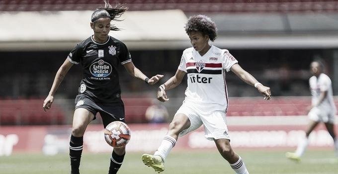 Corinthians vence São Paulo no Morumbi e sai em vantagem na final do Paulistão Feminino