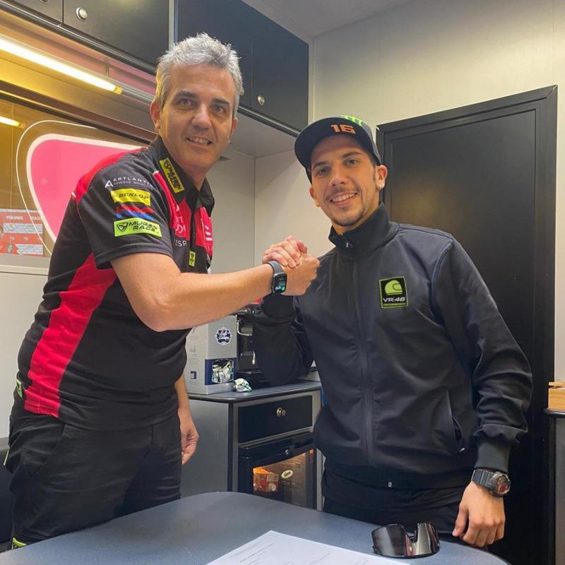 Nuevo equipo para Migno | Fuente: Moto GP Oficial