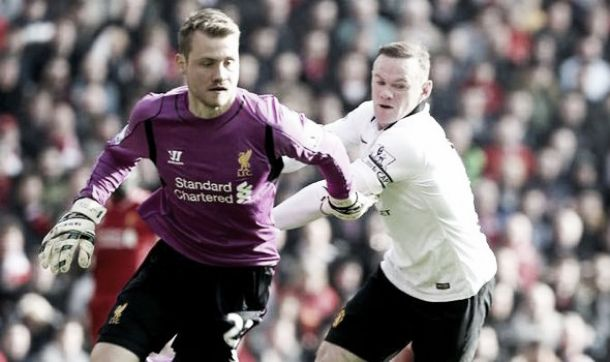 Simon Mignolet back in full training with Belgium after ankle injury