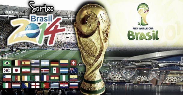 Sorteio do Mundial do Brasil 2014, directo