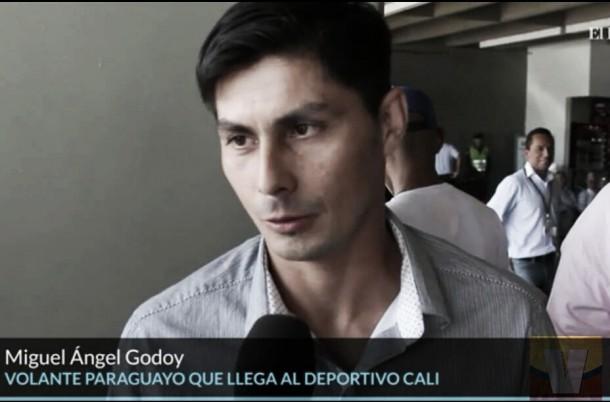 """Miguel Ángel Godoy: """"Sé la importancia del club Deportivo Cali"""""""