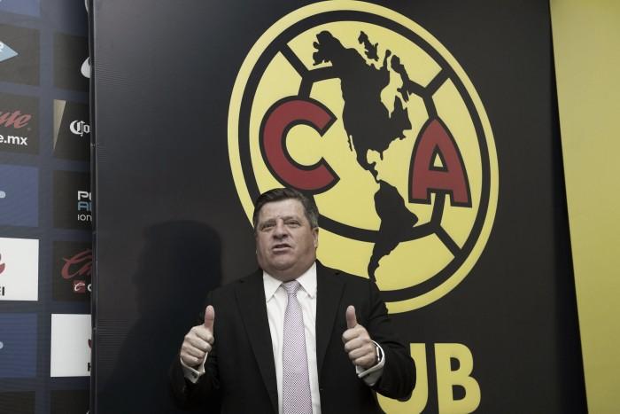 Miguel Herrera contento de volver a las Águilas