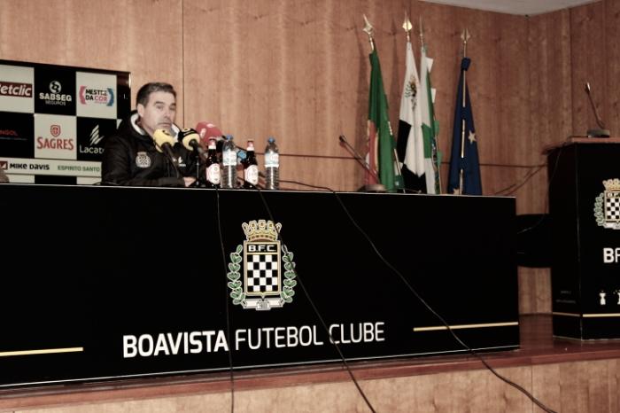 """Miguel Leal: """"El nivel de Sporting en la primera parte fue determinante"""""""