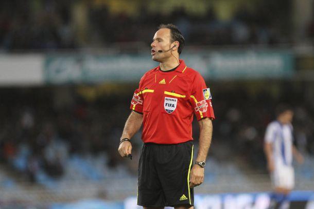 Mateu Lahoz, árbitro para el Granada- Málaga