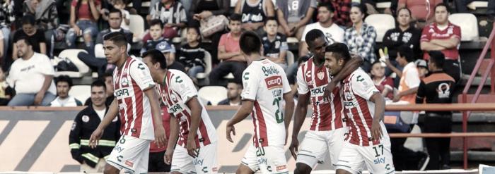 Mineros 1-2 Necaxa: puntuaciones de Necaxa en la jornada 2 de la Copa MX Apertura 2017