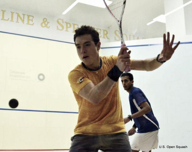 Miguel Ángel Rodríguez, entre los mejores diez jugadores de squash del mundo