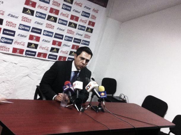 """Miguel Fuentes: """"Estamos orgullosos de pertenecer a Necaxa"""""""