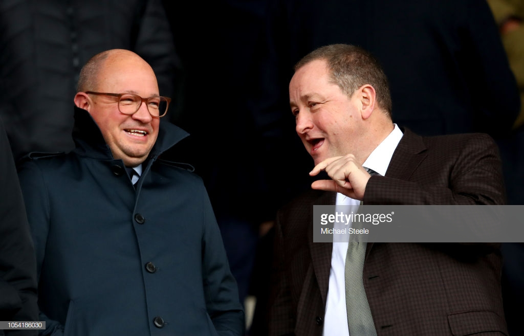 Mike Ashley willing to be flexible in negotiations regarding the price of Newcastle United