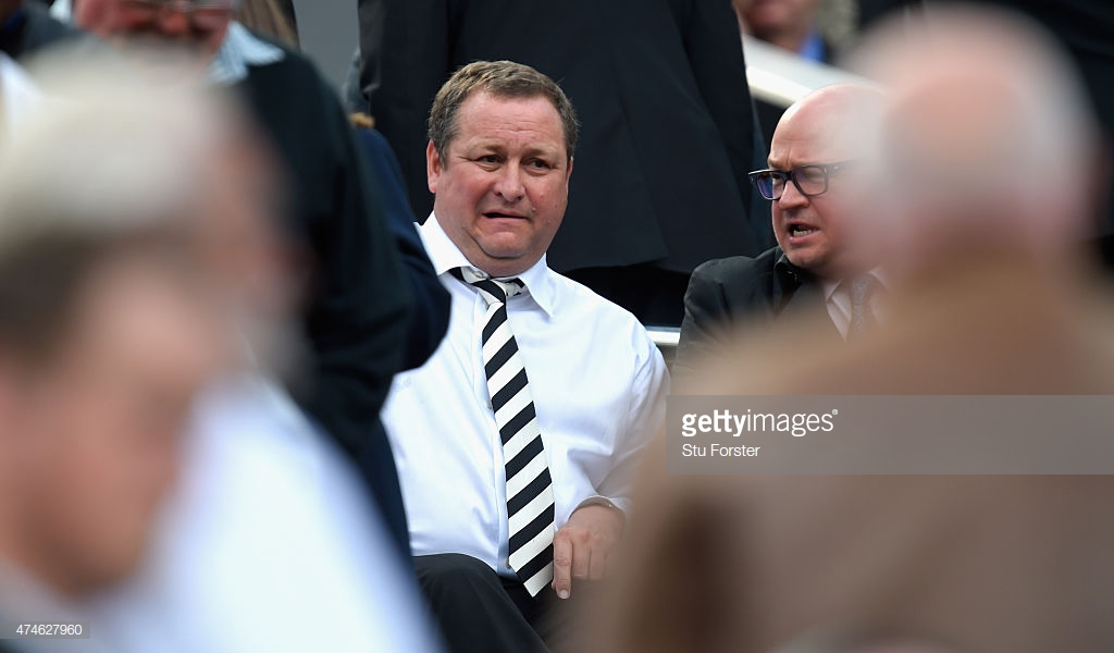 Mike Ashley insists he is eager to sell the club before January