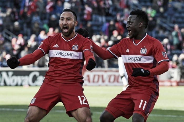 Chicago Fire gain full three points over short-handed Real Salt Lake