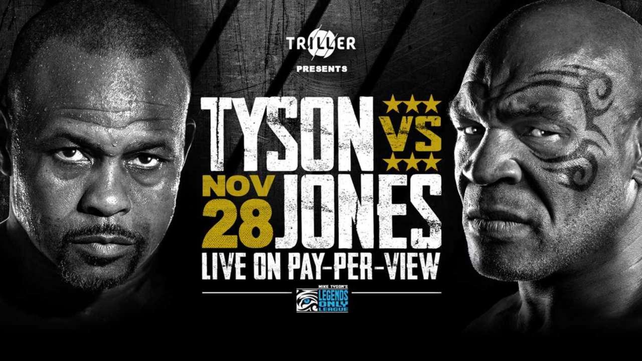 Mike Tyson vs. Roy Jones Jr: Two legends head-to-head this weekend