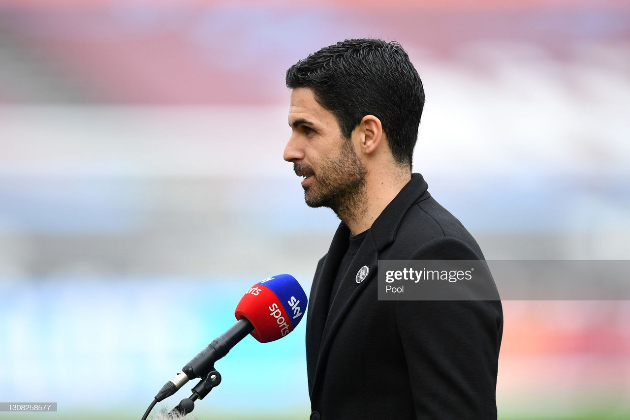 """Mikel Arteta: """"We showed a phase i did not like at all."""""""