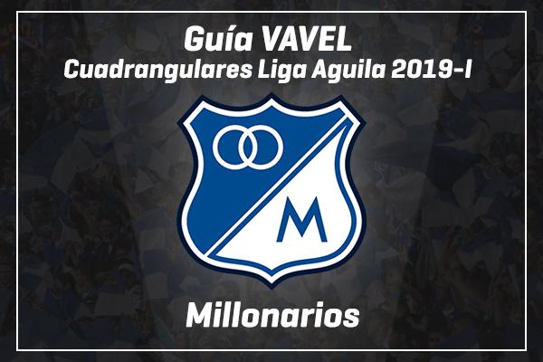 Guía VAVEL Colombia, Cuadrangulares Liga Aguila 2019-I: Millonarios