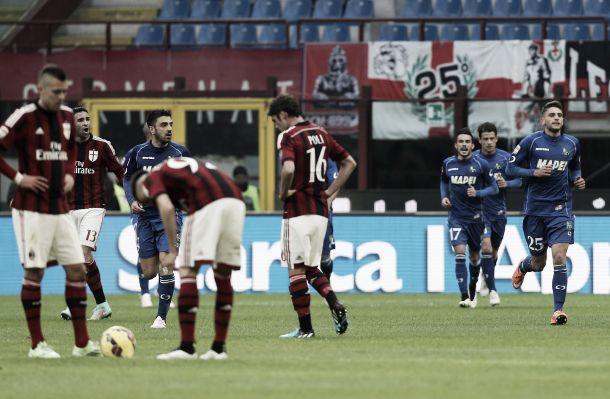 Risultato Sassuolo 3-2 Milan in Serie A 2015