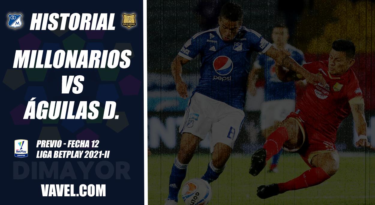 Historial Millonarios vs Águilas Doradas: duelo marcado por el empate