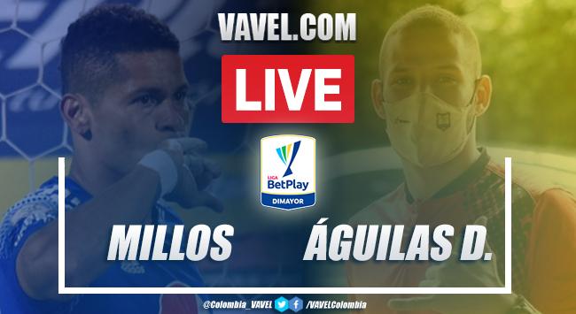 Resumen Millonarios vs Águilas Doradas (0-0) por Liga BetPlay