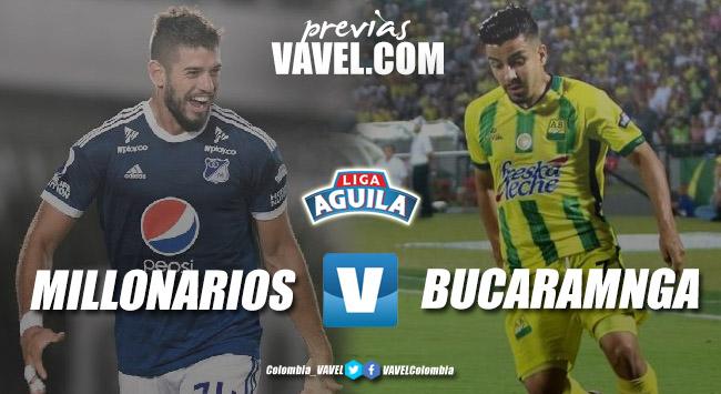 Previa Millonarios vs Atlético Bucaramanga: el 'embajador' y el 'leopardo' quieren recomponerse