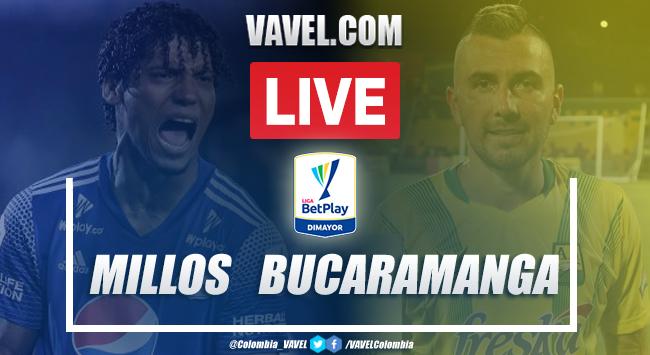 Resumen Millonarios vs Bucaramanga (0-0) por Liga BetPlay
