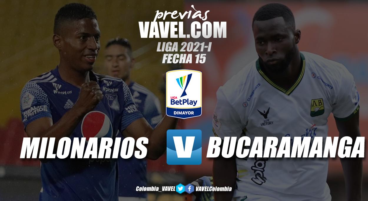 Previa Millonarios vs Atlético Bucaramanga: duelo directo buscando acercarse a la clasificación