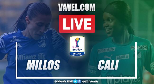 Millonarios vs. Deportivo Cali EN VIVO hoy en Liga BetPlay femenina (0-0)