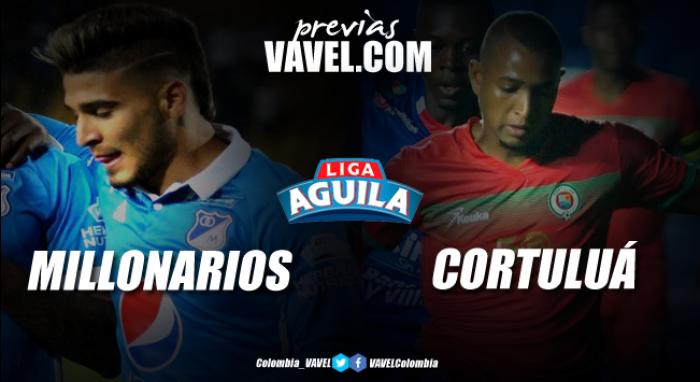 Previa Millonarios vs Cortuluá: La visita necesita la victoria para huirle al descenso