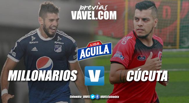 Previa Millonarios FC vs Cúcuta Deportivo: El 'azul' recibe a un 'motilón' sin gasolina