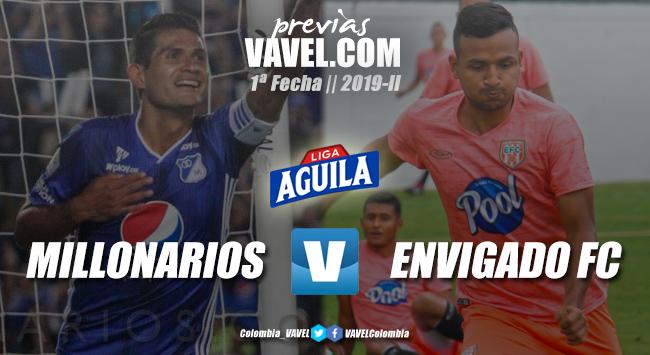 Previa Millonarios vs Envigado FC: borrón y cuenta nueva