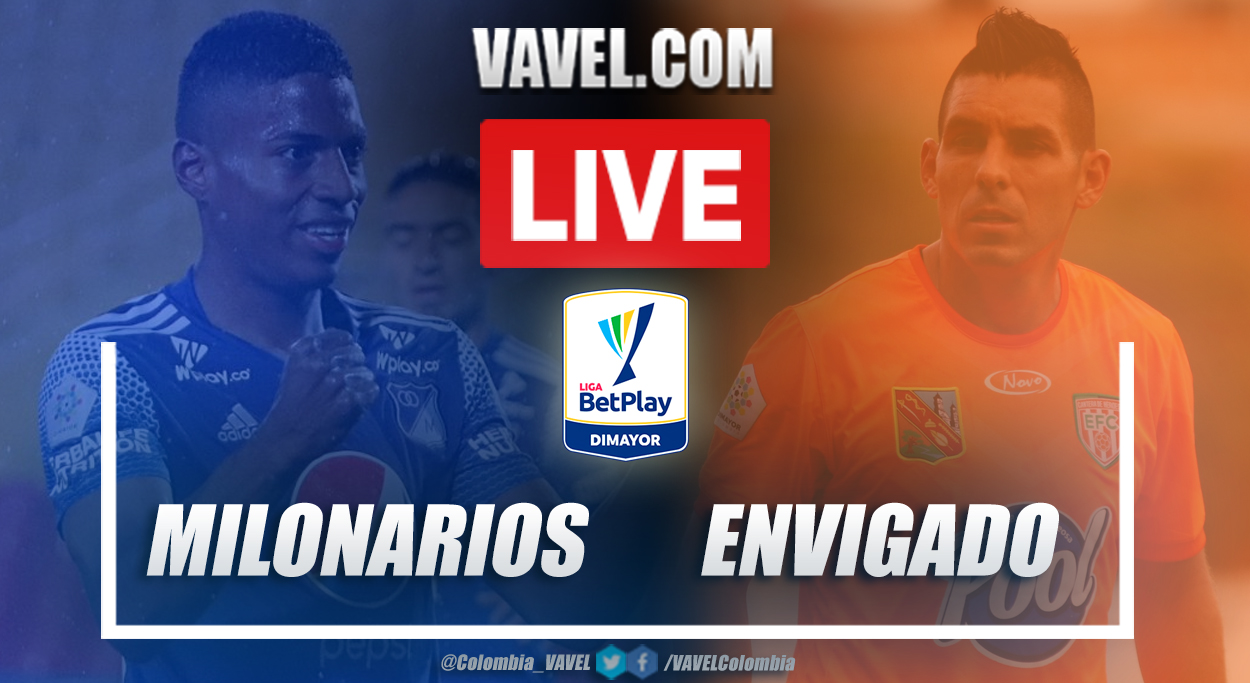 Resumen Millonarios vs Envigado (1-0) por la fecha 1 de la Liga BetPlay 2021-I
