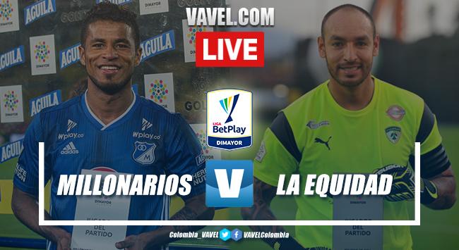Resumen y goles: Millonarios 2-2 La Equidad en fecha 3 Liga BetPlay 2020-I