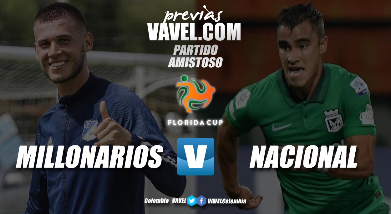 Previa Millonarios vs Atlético Nacional: duelo amistoso en la Florida Cup