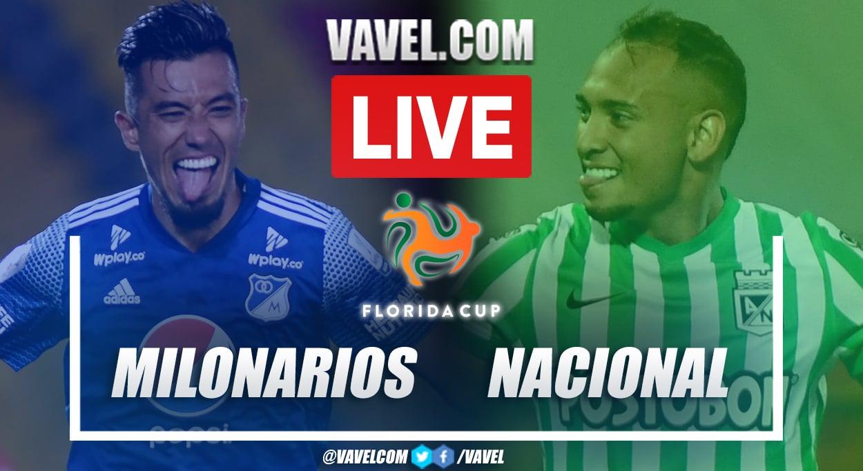 Millonarios vs Atl ético Nacional: Live Stream, Score Updates and How to Watch Florida Cup 2021