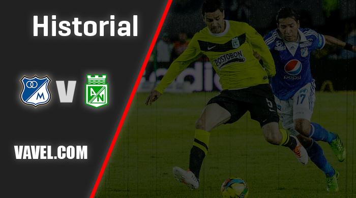 Historial Millonarios vs. Atlético Nacional: hegemonía 'embajadora'