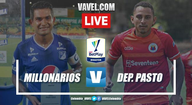 Goles y resumen: Millonarios 1-2 Deportivo Pasto en Liga BetPlay