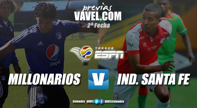 Previa Millonarios vs. Santa Fe: clásico bogotano para definir el primer finalista del Torneo ESPN
