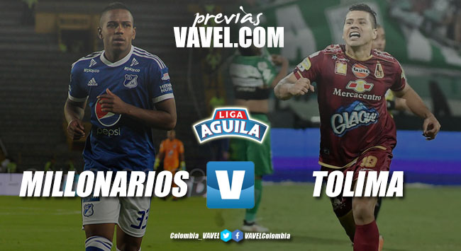 Previa Millonarios vs Deportes Tolima: a mantener el liderato en la capital