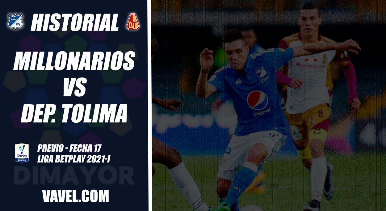 Historial Millonarios vs Deportes Tolima: números supremamente 'embajadores'