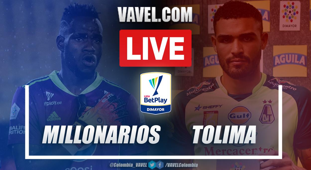 Resumen Millonarios vs Tolima (0-0) en la fecha 17 por Liga BetPlay 2021-I