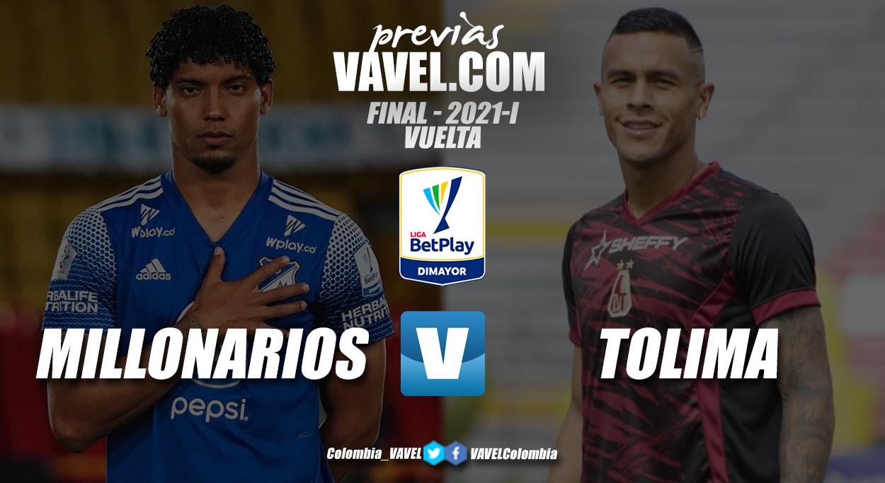 Previa Millonarios vs Deportes Tolima: 90 minutos para la gloria