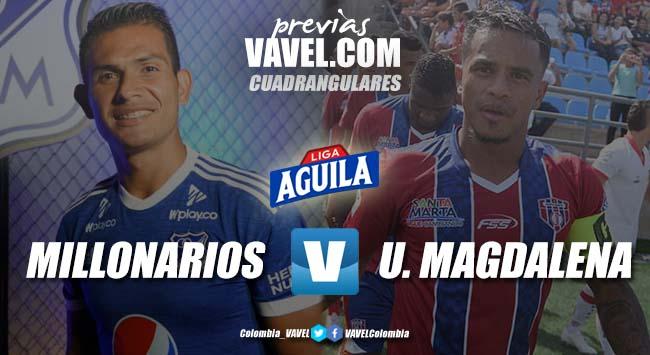 Previa Millonarios vs Unión Magdalena: segunda fecha de cuadrangulares con necesidad de sumar