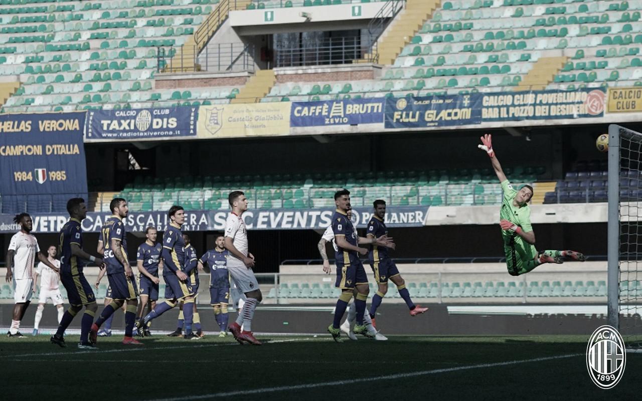 Eficiente, Milan visita e vence Hellas Verona pelo Calcio