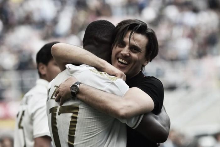 Inter-Milan, due palle inattive, i difensori fanno gli attaccanti e il pari è servito