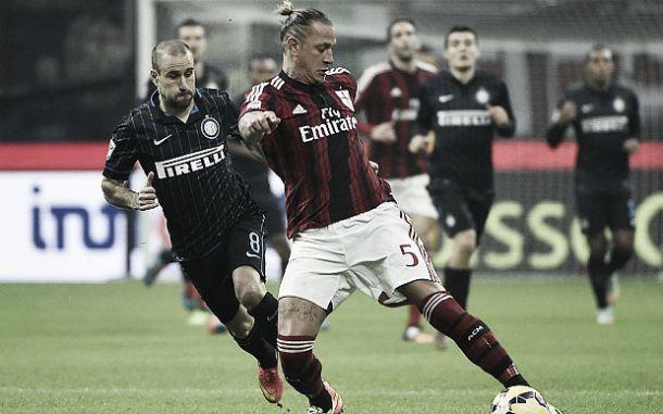 AC Milan 1-1 Inter: Obi cancels out Ménez's first half volley