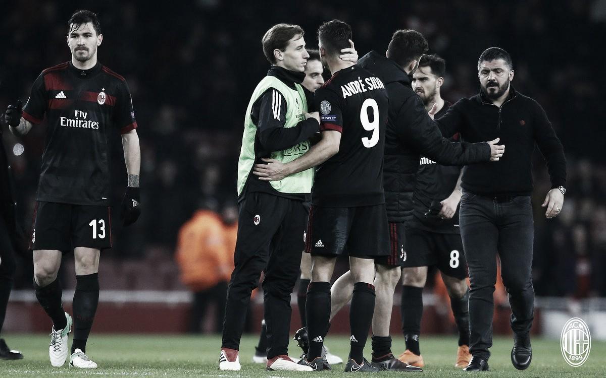Europa League - L'Arsenal e gli episodi condannano il Milan: 3-1 all'Emirates, rossoneri eliminati