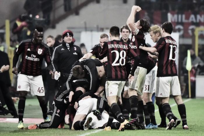 Il Milan rinasce: 3-0 all'Inter e torna in lotta per il terzo posto