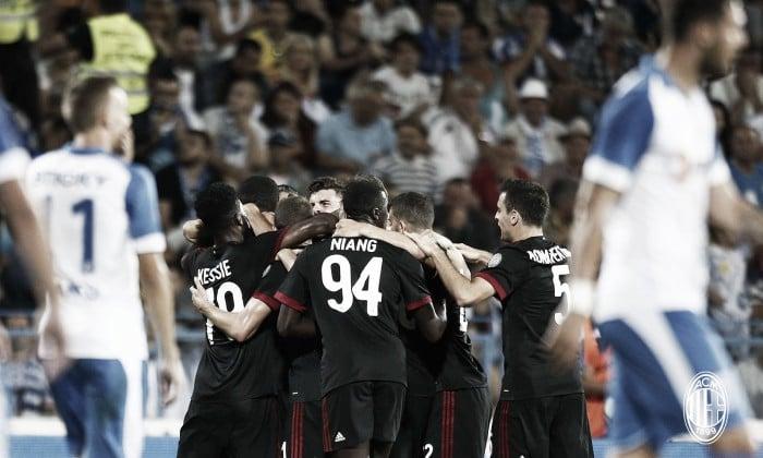 Liga Europa: AC Milan vence Universitat Craiova com André Silva em campo